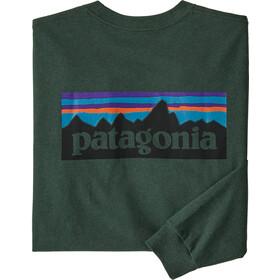 Patagonia P-6 Logo Pitkähihainen Responsibili-Tee Miehet, alder green